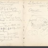 Carnets glangeaud, 2300, Massif du Mont Dore, 2317