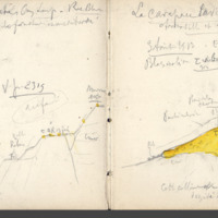 Carnets glangeaud, 2300, Massif du Mont Dore, 2313