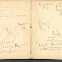 Carnets glangeaud, 1500, Feuilles d'USSEL,de MAURIAC, de LIMOGES, ROCHECHOUART, 1512