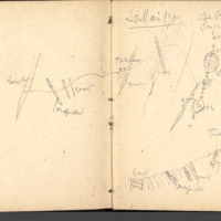 Carnets Glangeaud, 1500, Feuilles d'USSEL, de MAURIAC, de LIMOGES, ROCHECHOUART