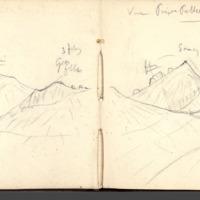 Carnets glangeaud, 3400, Massif du Mont Dore, 3425