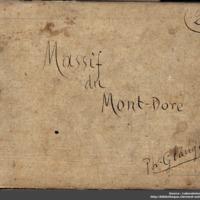 Carnets glangeaud, 2800, Massif du Mont-Dore, 2800C