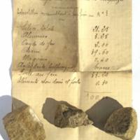 Analyse des calcaires de Chaptuzat