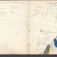 Carnets glangeaud, 2300, Massif du Mont Dore, 2316