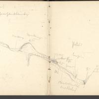Carnets glangeaud, 1900, Au sud est du Mont Dore, 1915