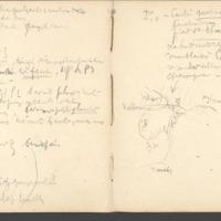 Carnets glangeaud, 1900, Au sud est du Mont Dore, 1903