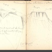 Carnets glangeaud, 700, Puy de Dôme, 722