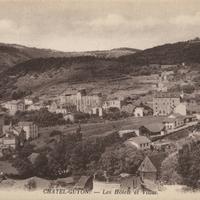 Châtel-Guyon.-Les Hôtels et villas