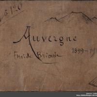 Carnets glangeaud, 1, Auvergne, Environs de Brioude, 1C