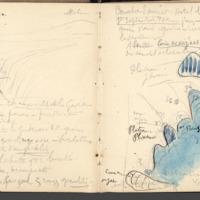 Carnets glangeaud, 1900, Au sud est du Mont Dore, 1902