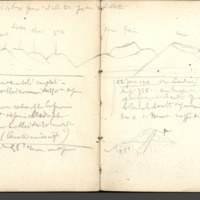 Carnets glangeaud, 400, Puy de Dôme, 408