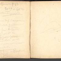 Carnets glangeaud, 1500, Feuilles d'USSEL,de MAURIAC, de LIMOGES, ROCHECHOUART, 1525