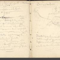 Carnets glangeaud, 1900, Au sud est du Mont Dore, 1914