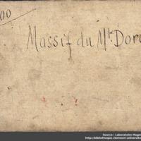 Carnets glangeaud, 2300, Massif du Mont Dore, 2300C